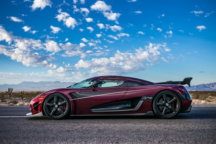 The world record-breaking Koenigsegg Agera